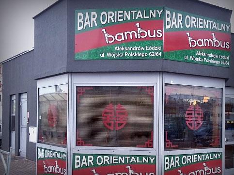 BAR ORIENTALNY BAMBUS
