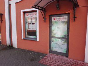 oklejanie witryn i drzwi Łódź